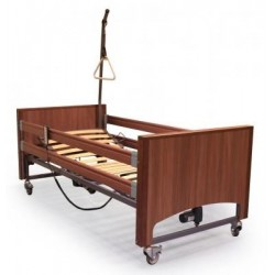 Lit Medical Grand Luxe Noyer