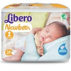 Libero Newborn 1/ 2-5kg  4x28p