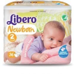Libero Newborn 2/ 3-6kg  3x88p