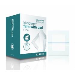 Kliniderm Film+Pad 5x7.2cm/50p