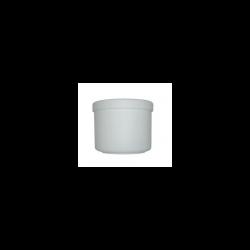 Pot à dentier Blanc