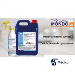 Hydrosurfarce 5L-désinfection