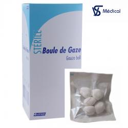 Tampons de gaze stérile 25x5p