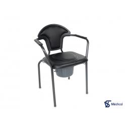 Chaise hygiénique Noir