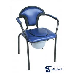 Chaise hygiénique Bleu